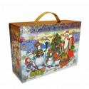 Подарок складной чемоданчик Снеговички