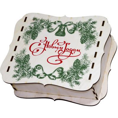 """Упаковка шкатулка от """"Деда Мороза"""""""