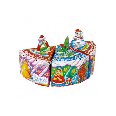 Сладкий новогодний подарок Тортик