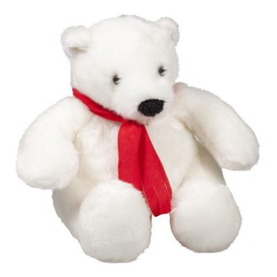 """""""Белый мишка с красным шарфом"""" 1000 гр"""