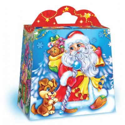 """Новогодняя упаковка """"Добрый Дед Мороз"""""""