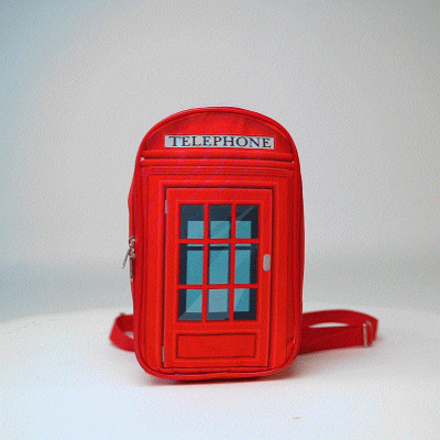 """Упаковка рюкзак термо """"Телефонная будка"""""""