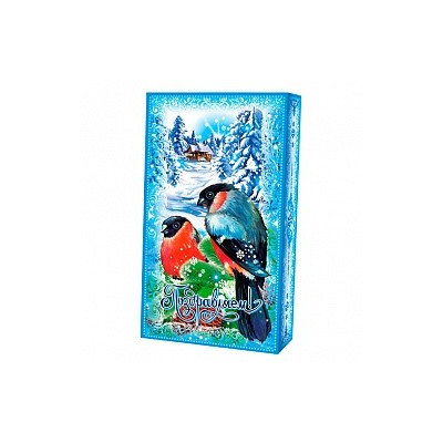 "Упаковка коробка ""Снегири"""