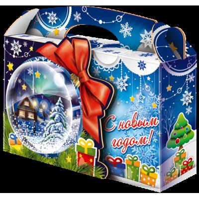 """Сладкий новогодний подарок """"Снежный шар"""""""