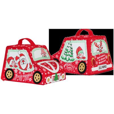 Сладкий новогодний подарок сумка Автомобиль