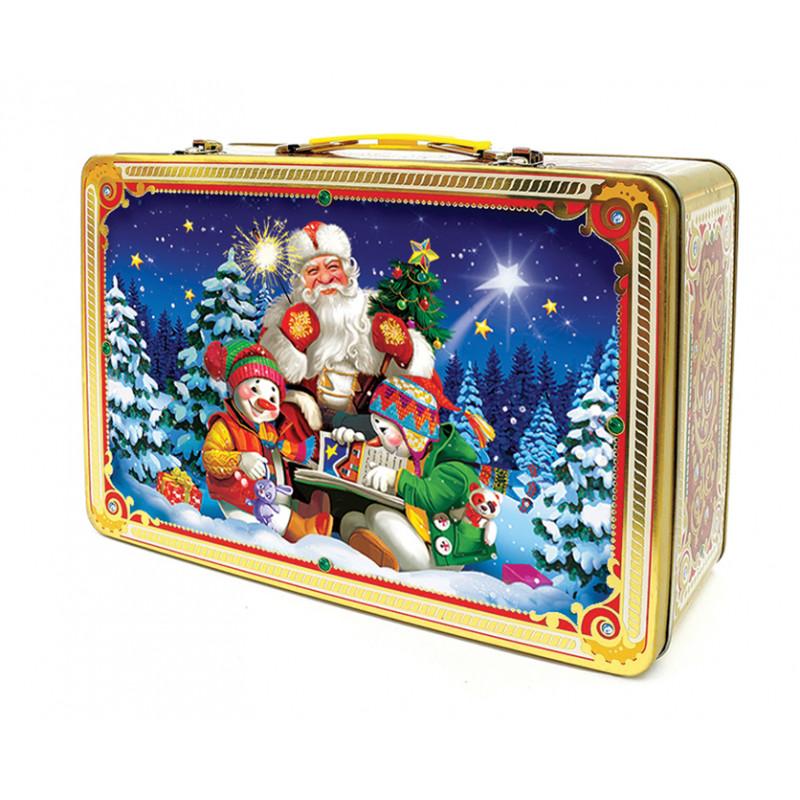Сладкий новогодний подарок чемодан Волшебная сказка