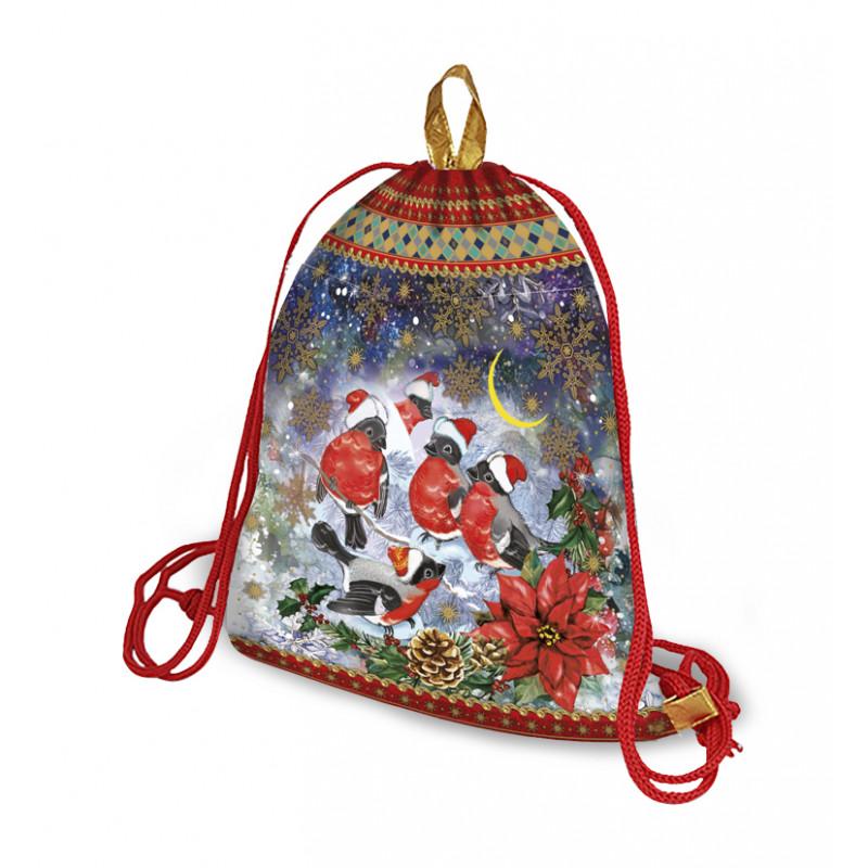 Сладкий новогодний подарок Рюкзак Снежный