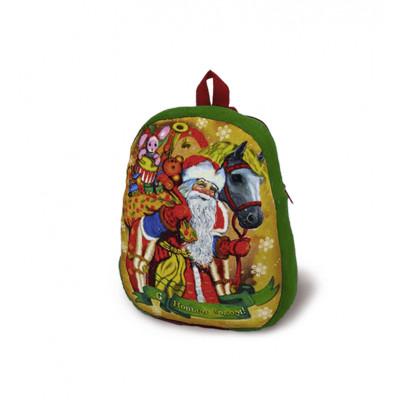Сладкий новогодний подарок рюкзак на праздник к детям 1400 гр