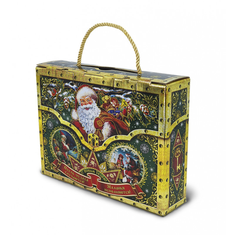 Сладкий новогодний подарок Сюрприз весом 900 гр