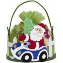 Подарок Дед Мороз в автомобиле 700 гр