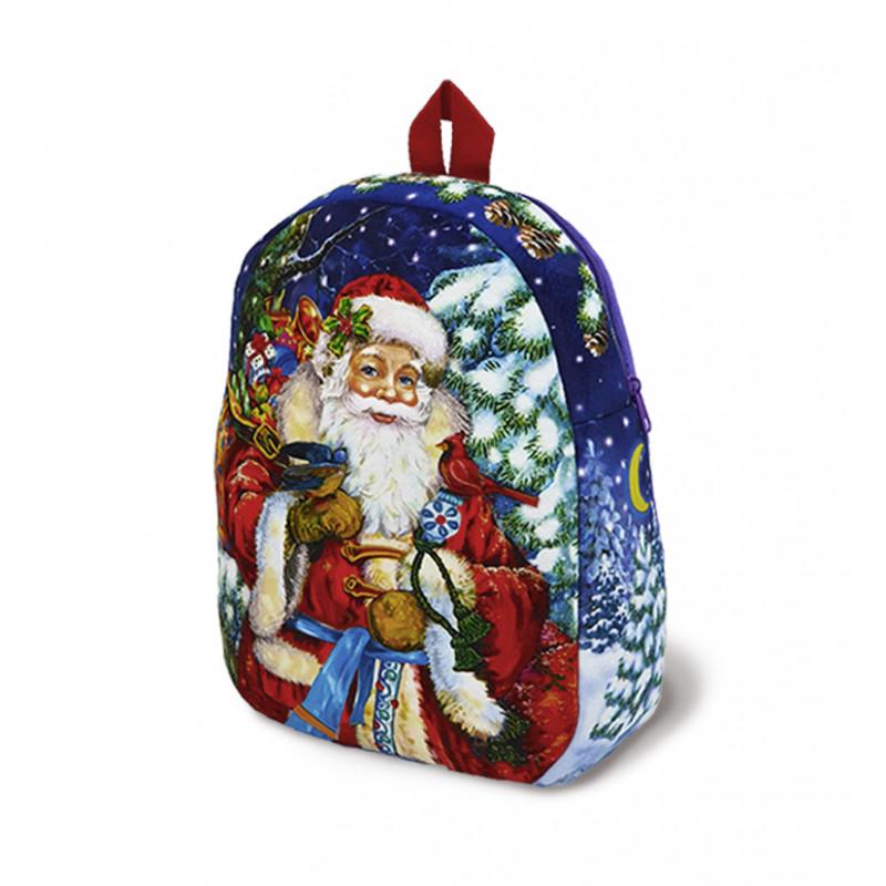 Упаковка новогодняя Рюкзак Милый Дедушка Мороз 2000 гр