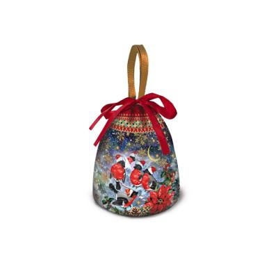 Сладкий новогодний подарок мешок Снежный
