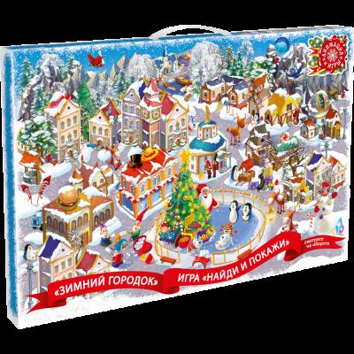 Упаковка Календарь Зимний Город 1000 гр