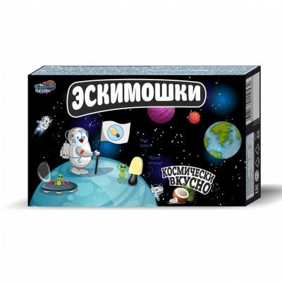 Эскимошки печенье с раскраской