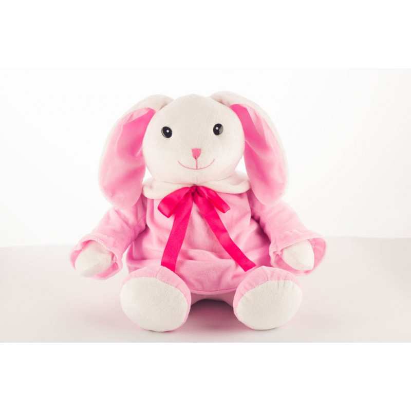 Сладкий новогодний подарок Розовая зайка