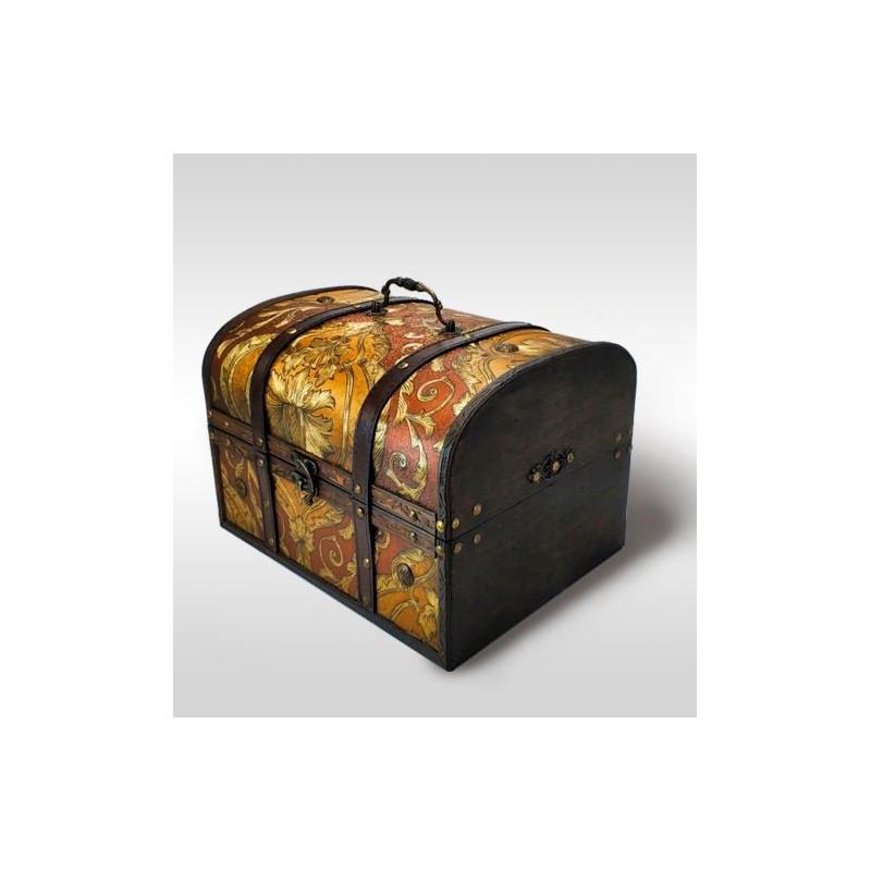 Подарок сундук Антик Дворцовый золото 2400 гр
