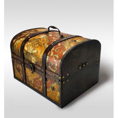 Упаковка сундук Антик Дворцовый золото 5000 гр