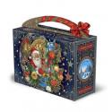 Подарок чемоданчик Старинные часы 1200 гр