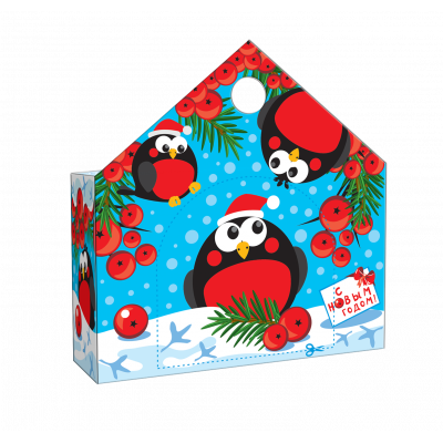 Новогодняя упаковка Снегишарики 150 гр
