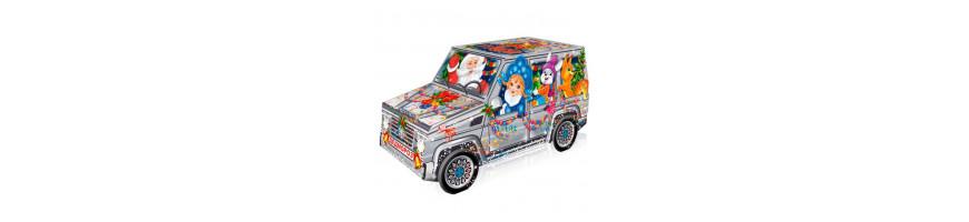 Купить сладкие новогодние подарки в упаковке из картона | Компания «Сладкий подарок»