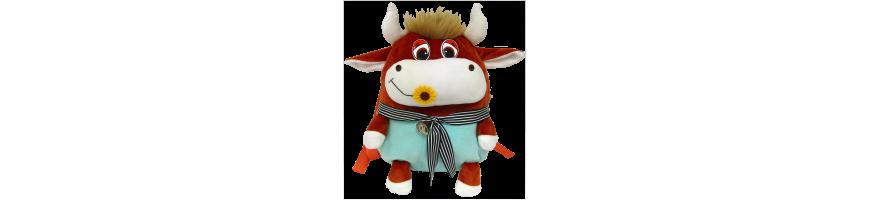 Купить сладкие новогодние подарки в мягкой игрушке с конфетами 2021